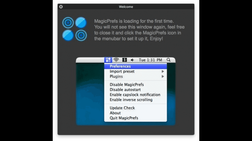 MagicPrefs for Mac - review, screenshots