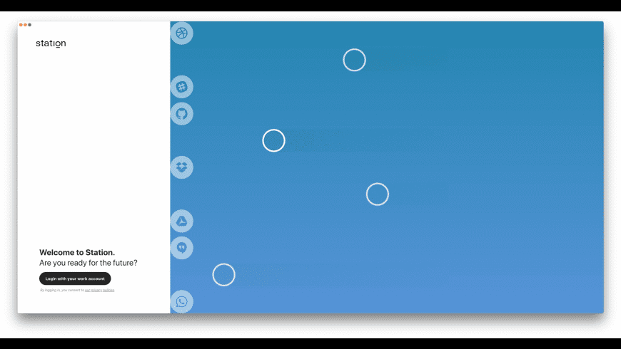 Station for Mac - review, screenshots