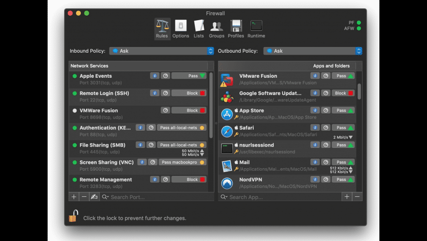 Scudo for Mac - review, screenshots