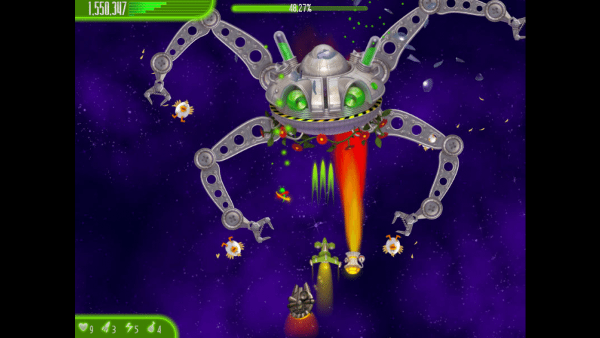 Chicken Invaders 4: Ultimate Omelette Easter Edition for Mac - review, screenshots