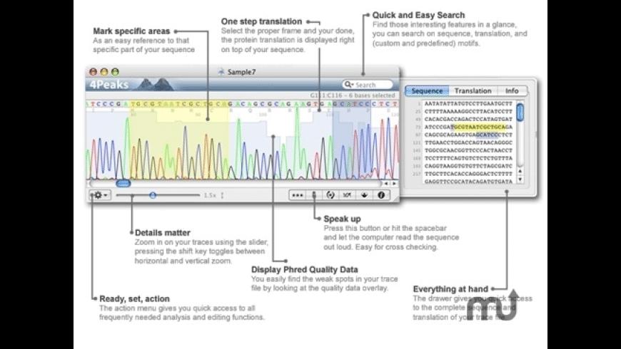 4Peaks for Mac - review, screenshots