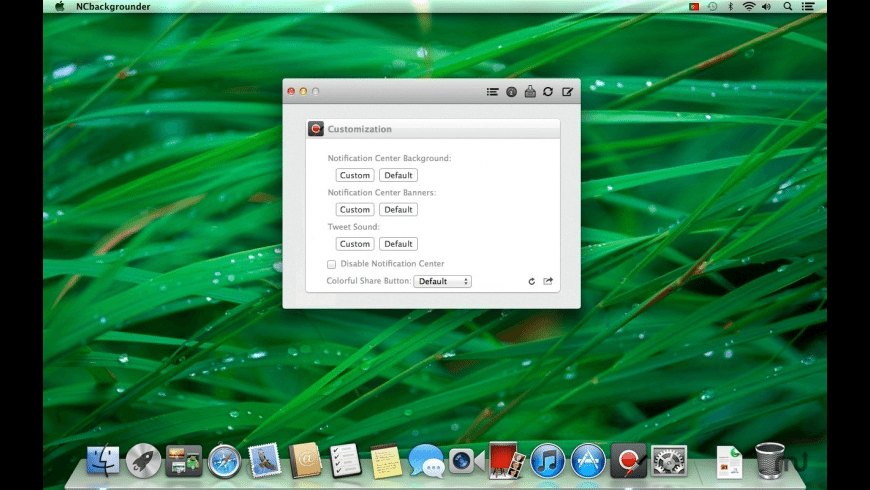 NCbackgrounder for Mac - review, screenshots