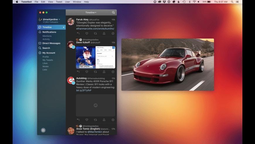 Tweetbot for Mac - review, screenshots