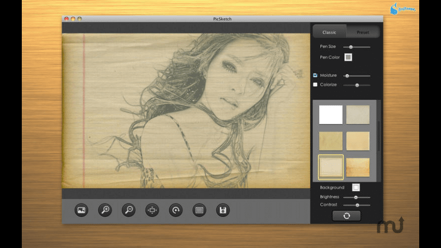 PicSketch for Mac - review, screenshots