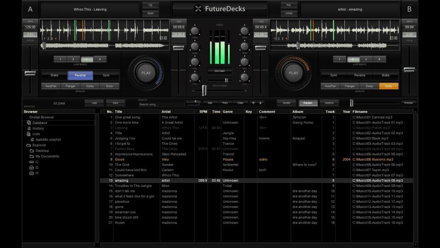 FutureDecks Express for Mac - review, screenshots