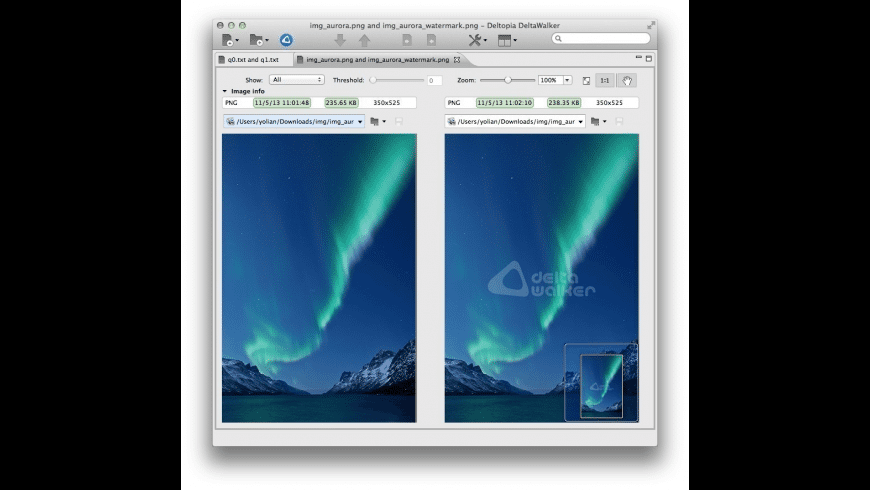 DeltaWalker Pro for Mac - review, screenshots