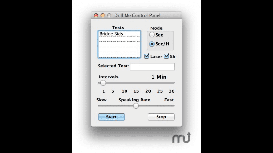 Drill Me for Mac - review, screenshots