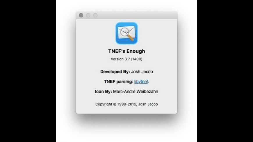 TNEFs Enough for Mac - review, screenshots