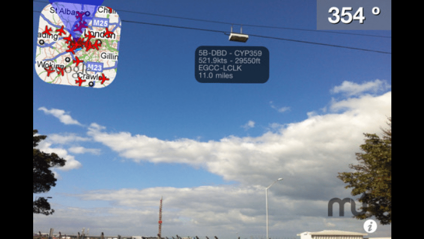 Plane Finder AR for Mac - review, screenshots