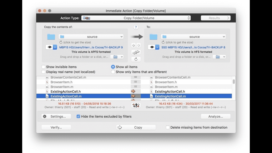 Tri-BACKUP for Mac - review, screenshots