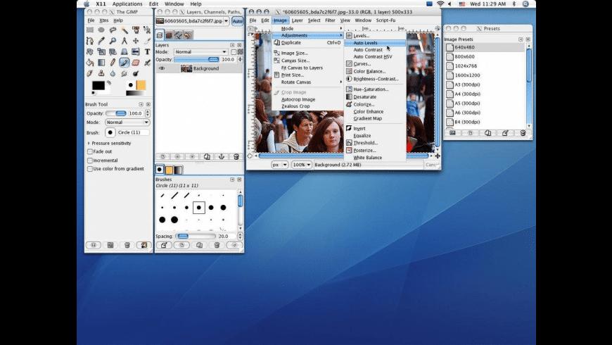 GIMP 10.5 TÉLÉCHARGER MAC