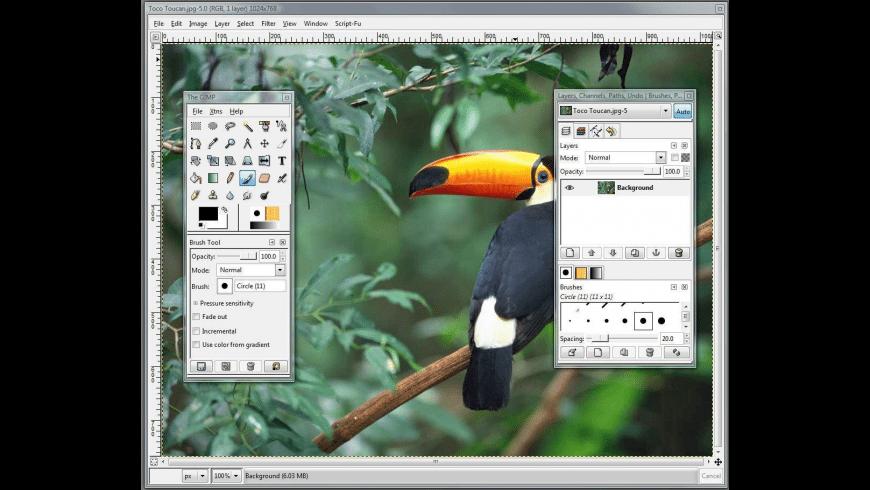 GIMPshop for Mac - review, screenshots