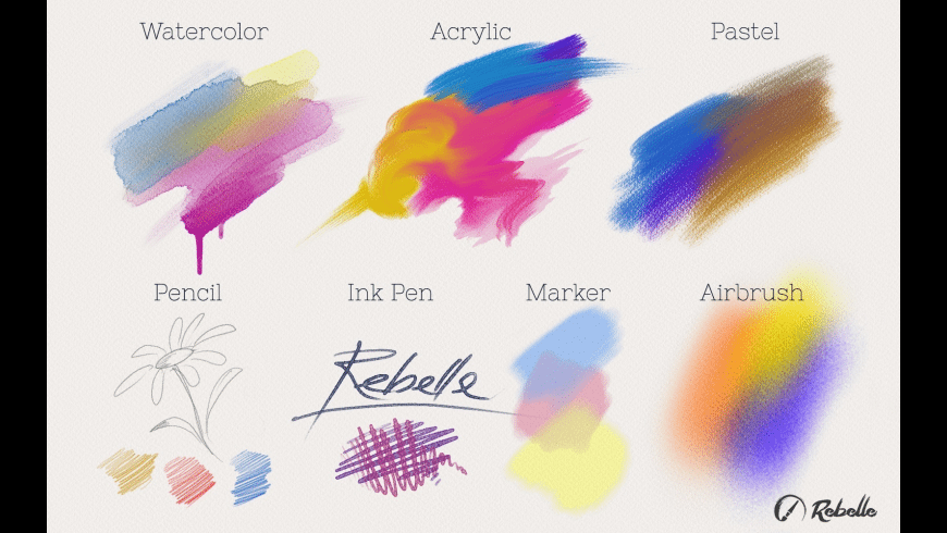 Rebelle for Mac - review, screenshots