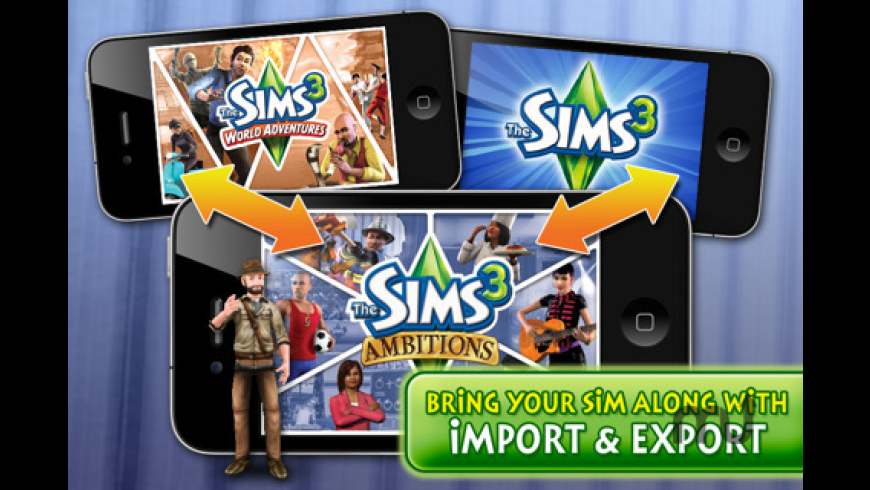 The Sims 3 Ambitions for Mac - review, screenshots