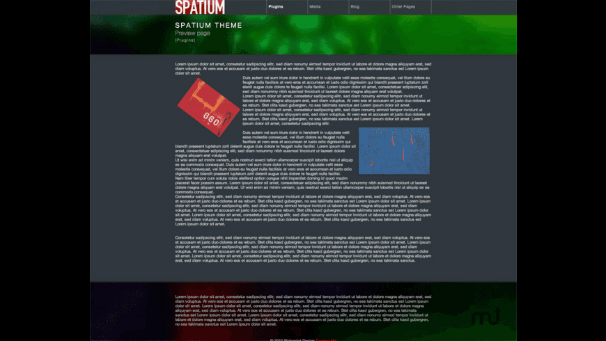 Spatium Theme for Mac - review, screenshots