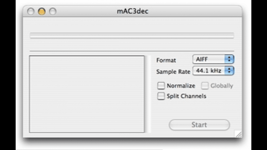 mAC3dec for Mac - review, screenshots