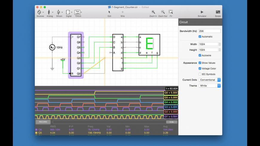 iCircuit for Mac - review, screenshots