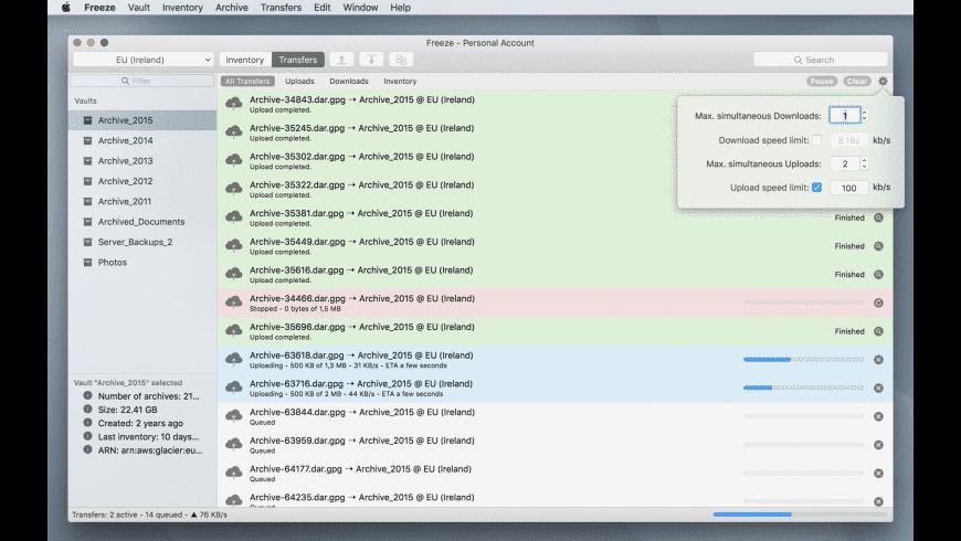 Freeze for Mac - review, screenshots