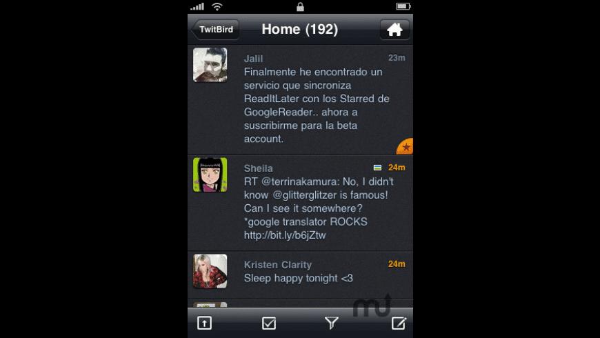 TwitBird Pro for Twitter for Mac - review, screenshots