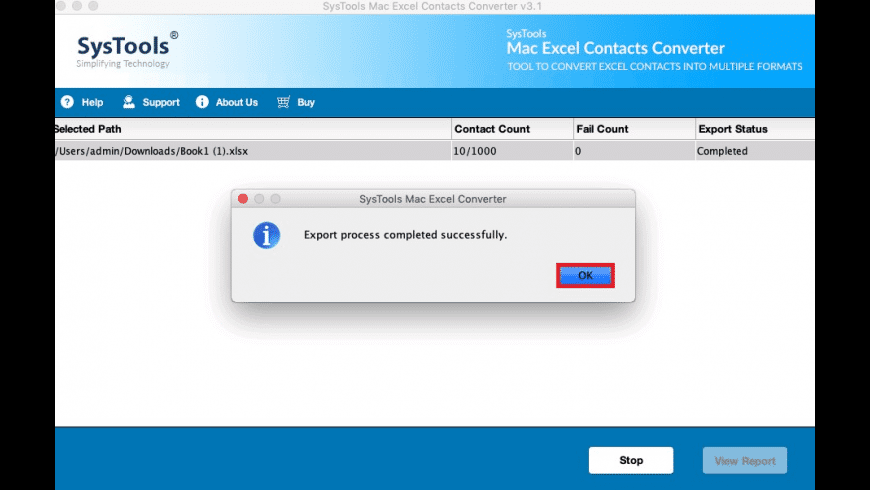 SysTools Excel Converter for Mac - review, screenshots