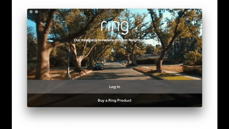 Ring for Mac - review, screenshots
