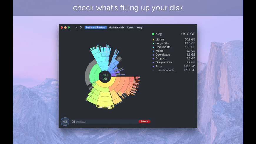 DaisyDisk for Mac - review, screenshots