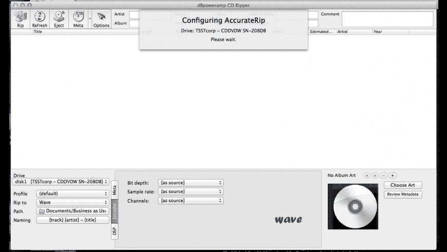 dBpoweramp Music Converter for Mac - review, screenshots