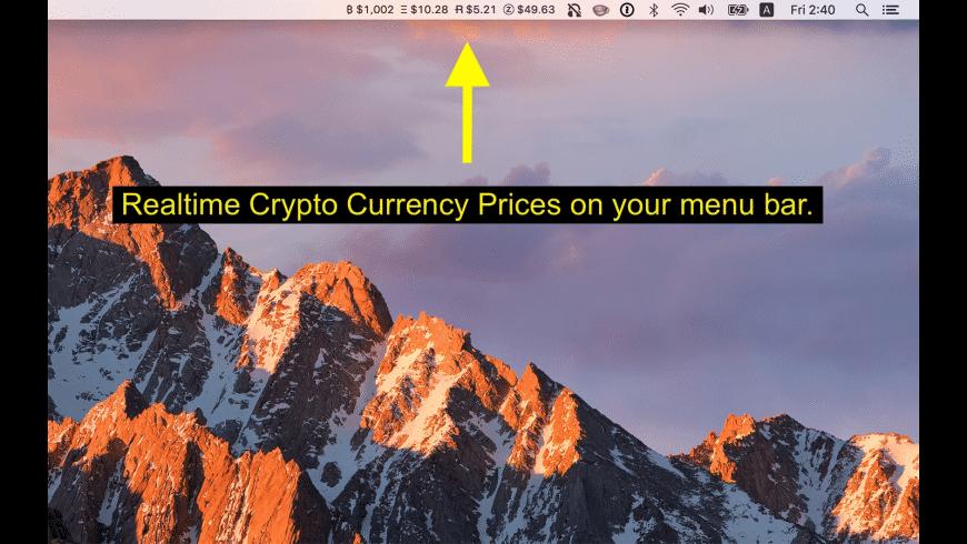 Coin Tick for Mac - review, screenshots