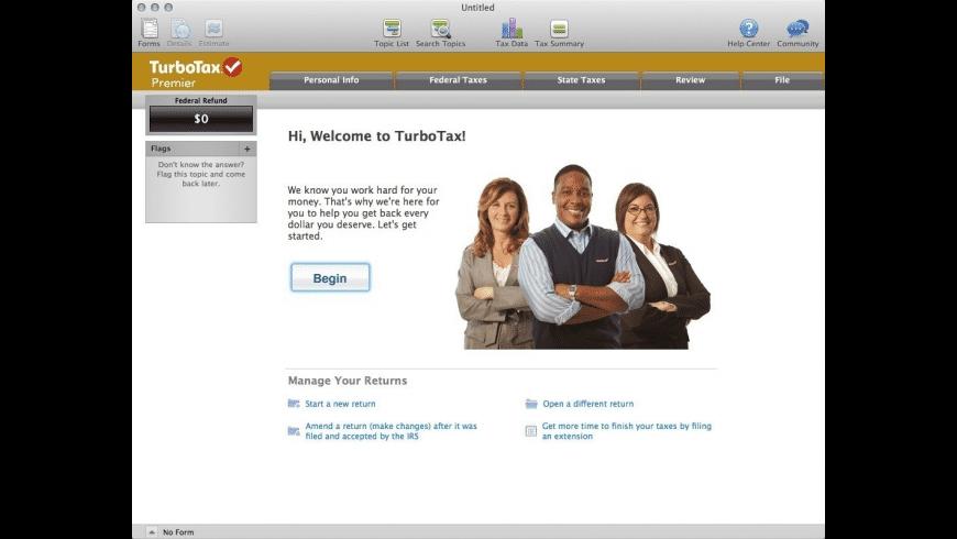 TurboTax for Mac - review, screenshots