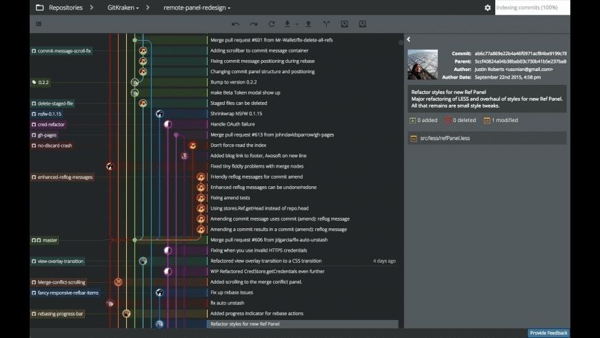 GitKraken for Mac - review, screenshots