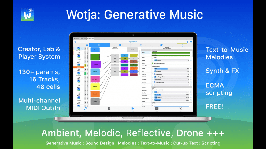 Wotja for Mac - review, screenshots