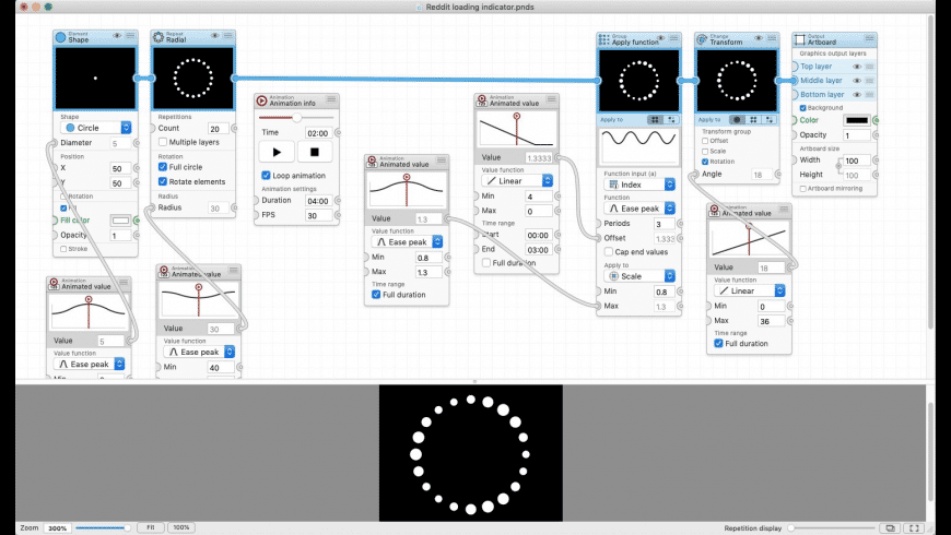 Patternodes for Mac - review, screenshots