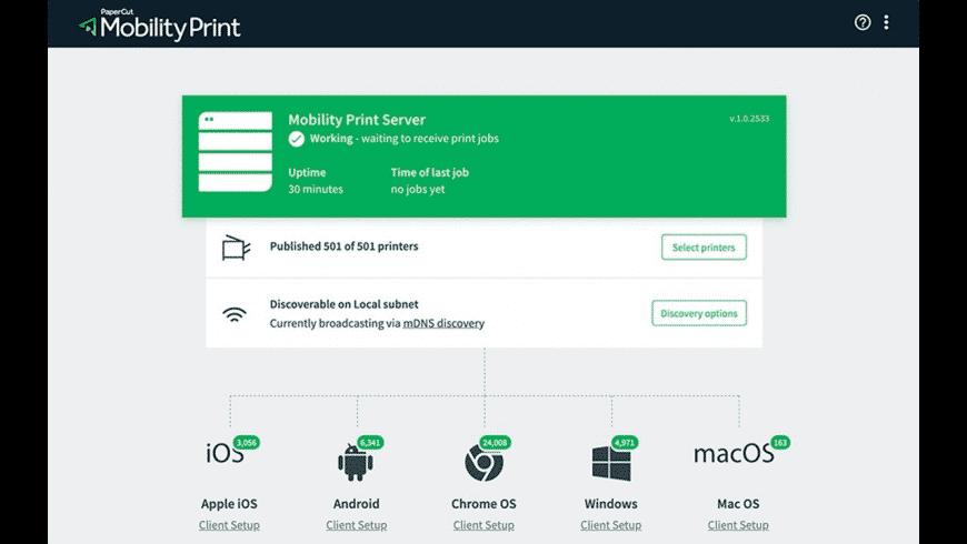 PaperCut NG for Mac - review, screenshots