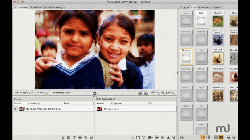 PostworkShop Pro for Mac - review, screenshots
