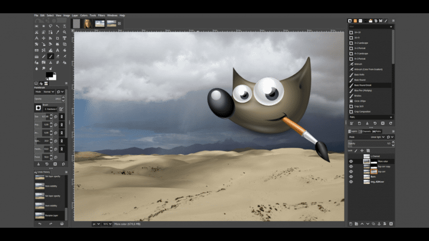 GIMP for Mac - review, screenshots