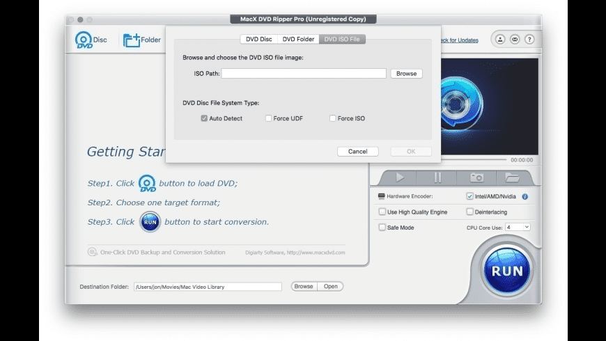 MacX DVD Ripper Pro for Mac - review, screenshots