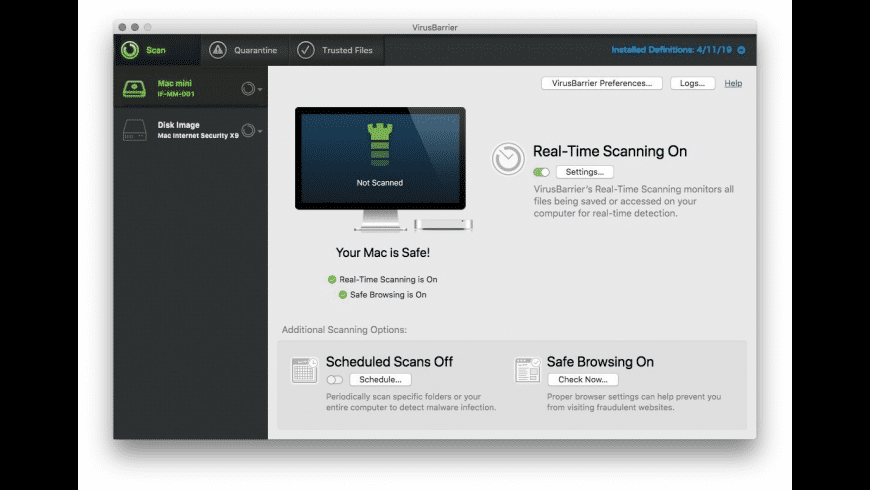 Internet Security X9 for Mac - review, screenshots