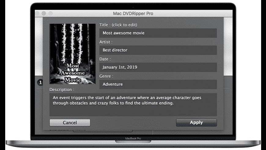 Mac DVDRipper Pro for Mac - review, screenshots