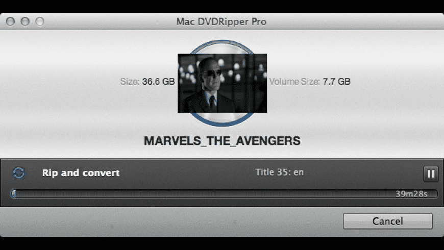 Mac DVDRipper Pro for Mac - review, screenshots