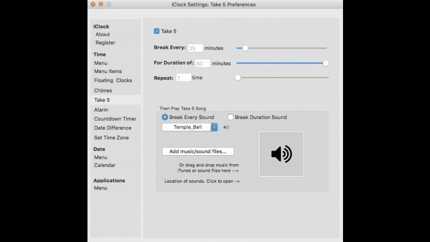 iClock for Mac - review, screenshots