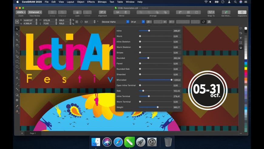 CorelDRAW for Mac - review, screenshots