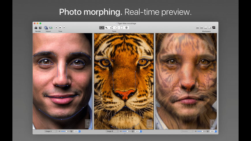 Morph Age for Mac - review, screenshots