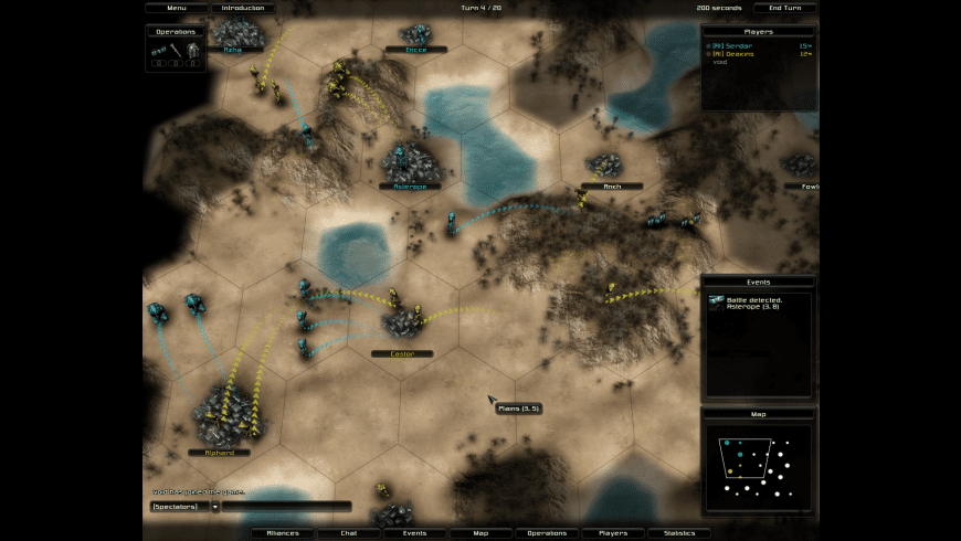 Conquest: Divide and Conquer for Mac - review, screenshots