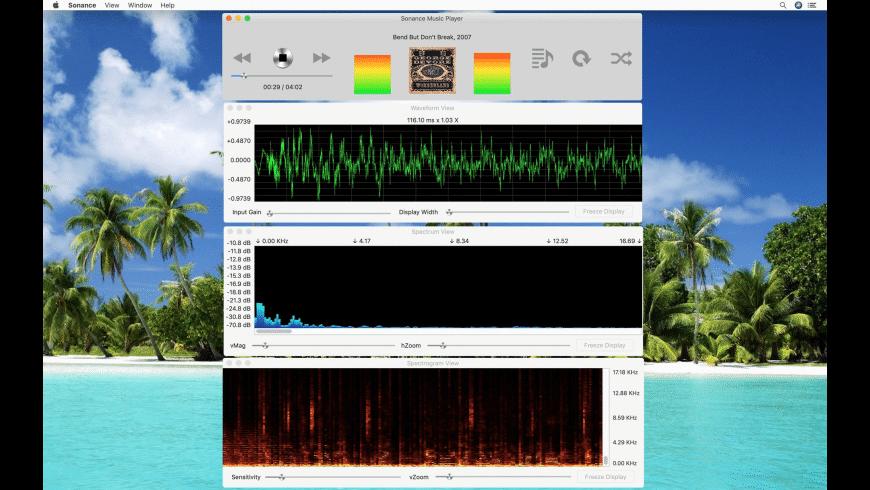 Sonance for Mac - review, screenshots