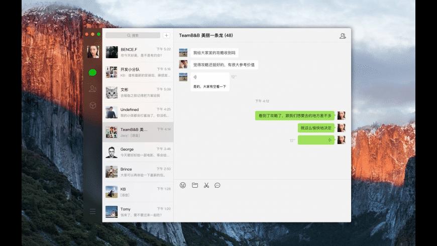 WeChat for Mac - review, screenshots