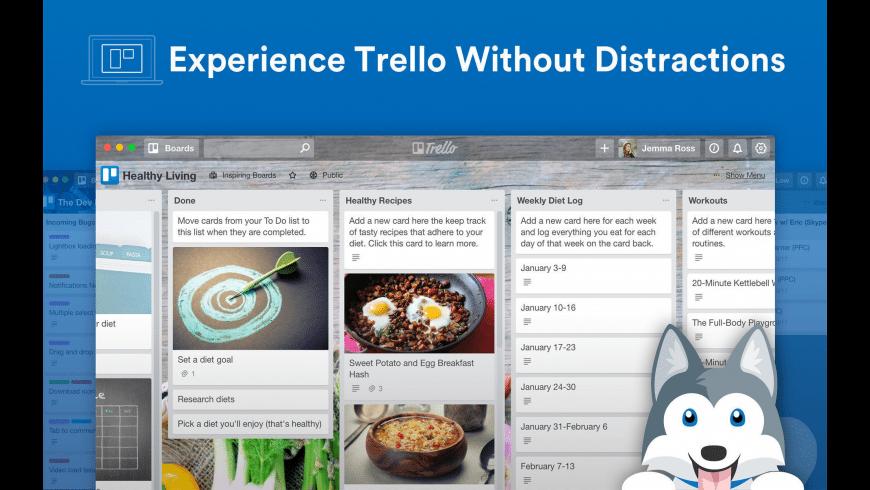 Trello for Mac - review, screenshots