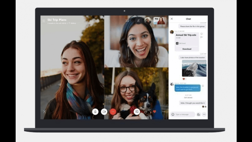 Skype for Mac - review, screenshots