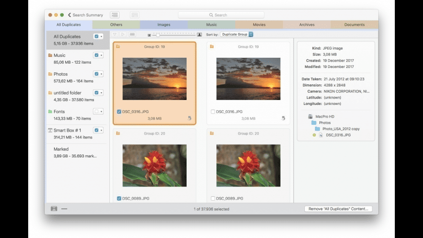 Tidy Up for Mac - review, screenshots