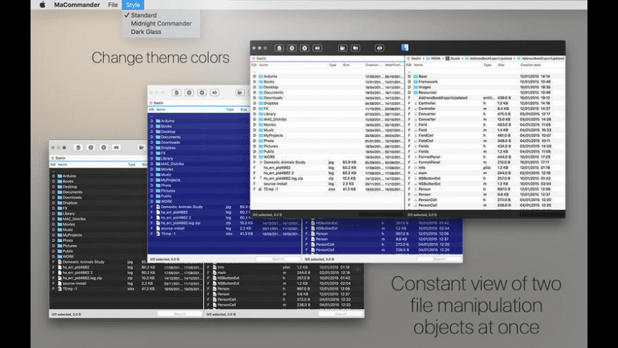 MaCommander for Mac - review, screenshots