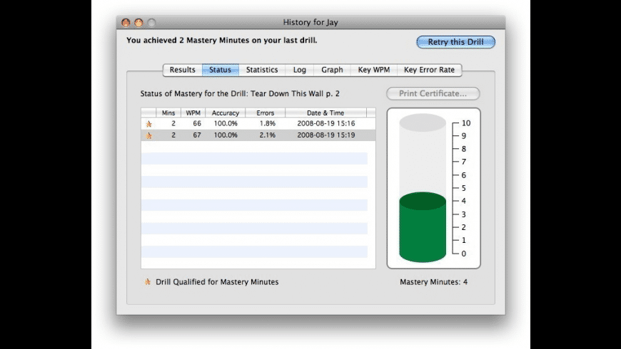 Master Key for Mac - review, screenshots